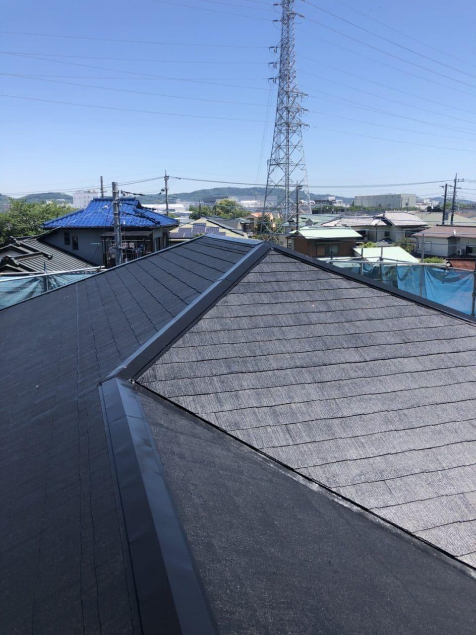 <施工後>屋根塗装