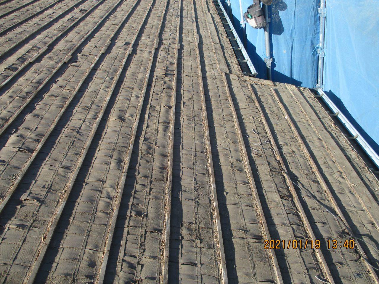 瓦桟木の劣化